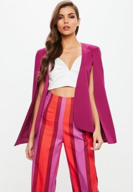 purple-cape-blazer